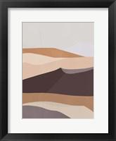 Desert Dunes III Framed Print