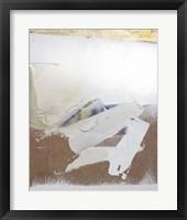 Gold Divided I Framed Print