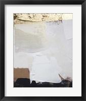 Gold Divided II Framed Print