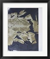 Gold Divided IV Framed Print