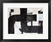 Racetrack Diptych I Framed Print