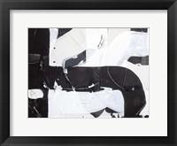 Racetrack Diptych II Framed Print