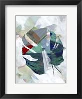 Monstera V Framed Print