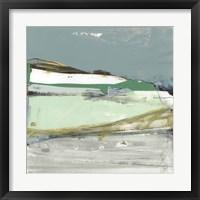 Dartmoor Blues I Framed Print