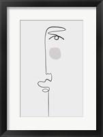 Faces 1 Framed Print