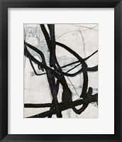 Graphical Lines 6 Framed Print