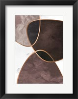 Velvet Shapes 4 Framed Print