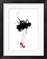 Framed Red Shoes