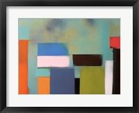Urban Hues 02 Framed Print