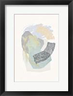 Lichen Rocks No. 2 Framed Print