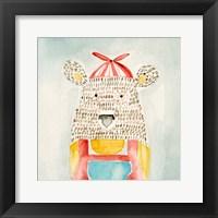 Deanie Beanie Bear Framed Print
