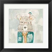Mr. Bolo Bear Framed Print
