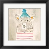 Rue Bear Framed Print