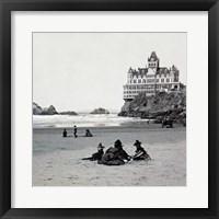 Framed Cliff House I