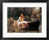 Framed Lady of Shalott, 1888
