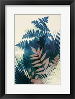 Welcome to the Jungle, Blue 2 Framed Print