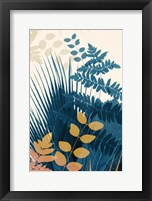 Welcome to the Jungle, Blue 5 Framed Print