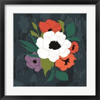 Framed Bright Floral I