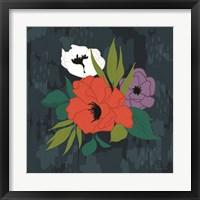 Bright Floral II Framed Print