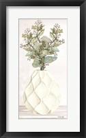 Geometric Vase III Framed Print