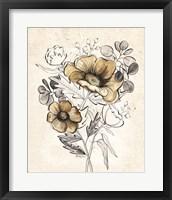 Serene Bouquet 1 Framed Print