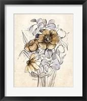 Serene Bouquet 2 Framed Print