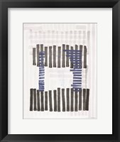 Intersecting Lines 1 Framed Print