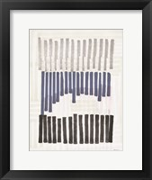 Intersecting Lines 2 Framed Print