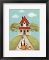 My Home V Framed Print