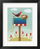 My Home IV Framed Print
