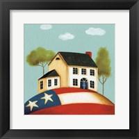 My Home I Framed Print