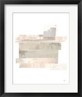 Stacks IV Neutral B Framed Print