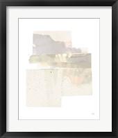 Stacks II Neutral B Framed Print