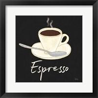Fresh Coffee Espresso Framed Print