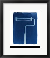 Cyanotype Tools X Framed Print