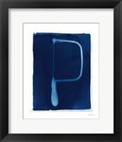 Cyanotype Tools VI Framed Print