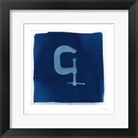 Cyanotype Tools IV Framed Print
