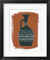 Global Vessels I Framed Print