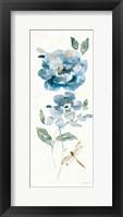 Blues of Summer IV Gilded Panel Framed Print