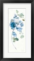 Blues of Summer III Gilded Panel Framed Print