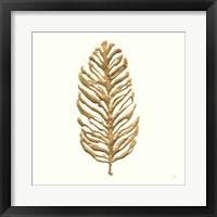 Gilded Palm IV Framed Print
