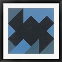 Triangles II Framed Print