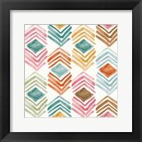 Girlfriends Pattern III Framed Print