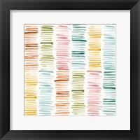 Girlfriends Pattern V Framed Print