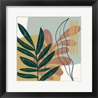 Mid Century Modern I Light Framed Print