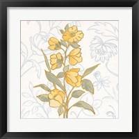 Flower Sophistication II Framed Print