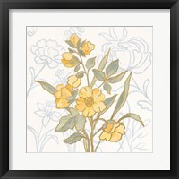 Flower Sophistication I Framed Print