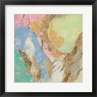 Retro Jewel Tones II Framed Print