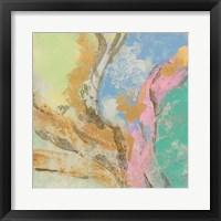 Retro Jewel Tones I Framed Print
