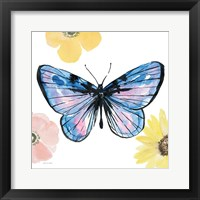 Beautiful Butterfly IV Lavender No Words Framed Print